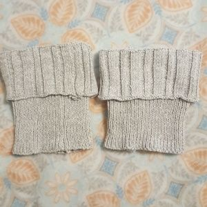 Other - Gray Boot Cuffs